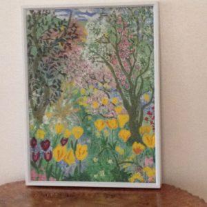 late spring garden Innisfree