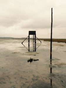 Watchtower on the mud flats
